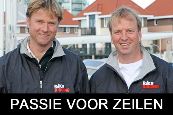Aaandeelhouders van Rake Rigging bv Michel de Nijs en Pieter Kok