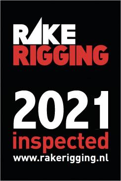Rake Rigging sticker 2018